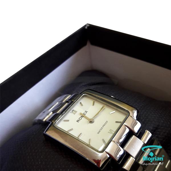 جعبه و بالشتک ساعت تبلیغاتی