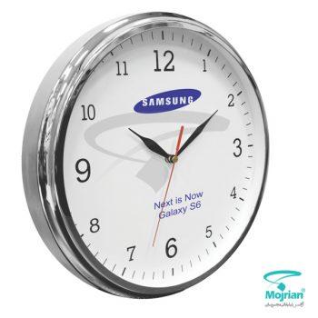 ساعت تبلیغاتی فلزی