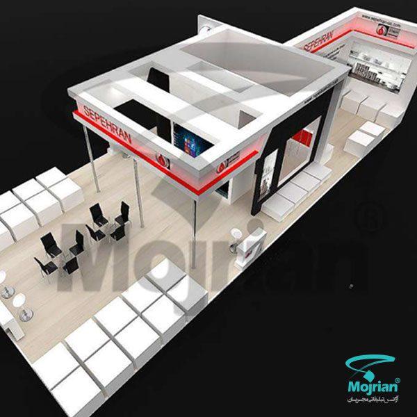 ساخت غرفه نمایشگاه