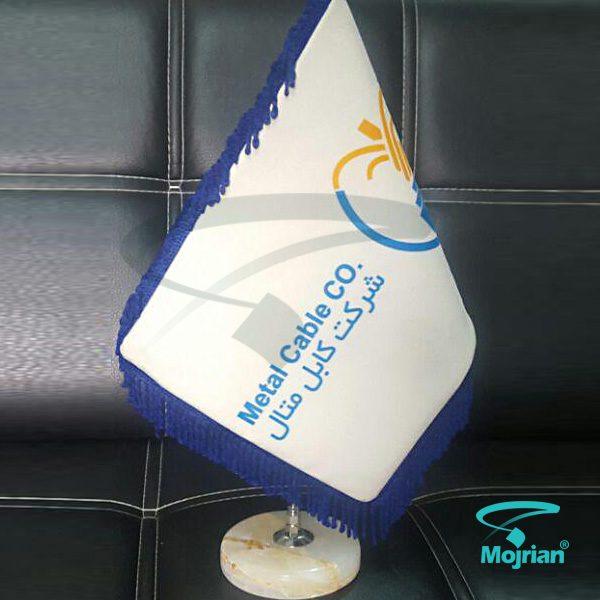 پرچم رومیزی مخمل