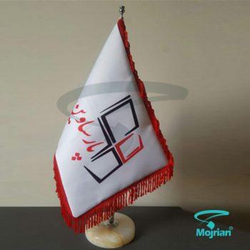 پرچم رومیزی ساتن