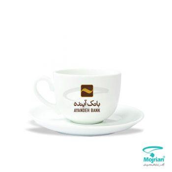 فنجان نعلبکی تبلیغاتی