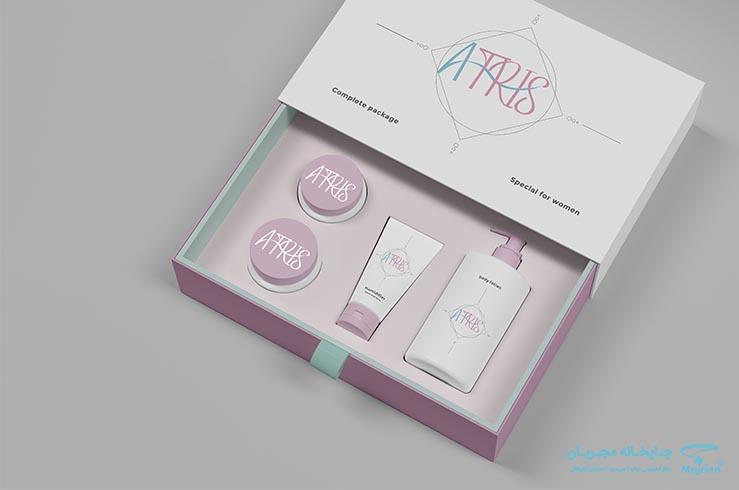 طراحی بسته بندی, طراحی محصولات آرایشی بهداشتی, طراحی و چاپ بسته بندی بهداشتی